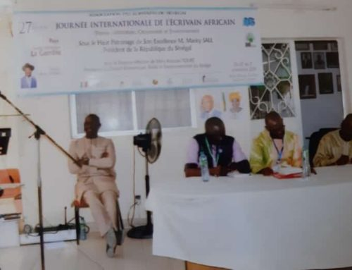 NCAC and Writers Association of The Gambia (WAG) promote Gambian Literature in Senegal's African Writers Day, 2019